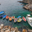 Boats at Riomaggiore, Italy — Stock Photo #14148366
