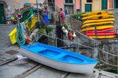 Riomaggiore, italië — Stockfoto
