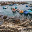 Boats at Riomaggiore, Italy — Stock Photo #14150060