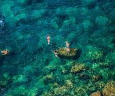 Средиземноморский туристов — Стоковое фото