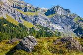 伯尔尼阿尔卑斯山 — 图库照片