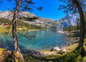 Lake Oeschinen/ Oeschinensee, Switzerland IV — Stock Photo