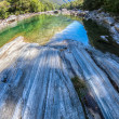 Verzasca River Landscape, Switzerland — Stock Photo