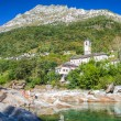 Stock Photo: Verzasca Valley - Church