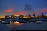 Shah Alam, Malaysia, sunset — Stock Photo