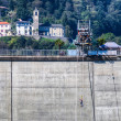 Locarno Dam - Bungee Jumping — Stock Photo