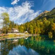 Stock Photo: Blausee, Switzerland