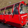 Stock Photo: Brienz-Rothorn, Switzerland - Red Train Car