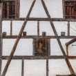 Timber Frame Wall — Foto de Stock
