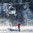 Stock Photo: Helicopter Landing