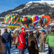 2013 35th Hot Air Balloon Festival, Switzerland — Foto Stock