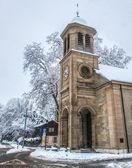 Protestantiska kyrkan, genève — Stockfoto