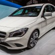 83rd geneva motorshow 2013 - mercedes-benz cla — Stock Photo