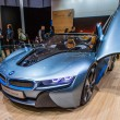 83rd Geneva Motorshow 2013 -BMW i8 Concept Car - Stock Photo