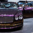 83rd Geneva Motorshow 2013 - Bentley Flying Spur — Stock Photo