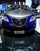 83rd Geneva Motorshow 2013 - Lancia Ypsilon S — Stock Photo