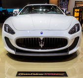 83rd Geneva Motorshow 2013 - Maserati — Stock Photo