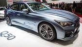 83rd Geneva Motorshow 2013 - Infiniti Q50 — Stock Photo