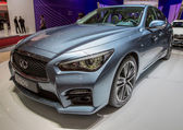 83rd Geneva Motorshow 2013 - Infiniti Q50 — Stock Photo
