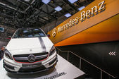 83rd Geneva Motorshow 2013 - Mercedes-Benz A45 AMG — Stock Photo