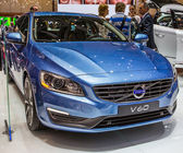 83rd Geneva Motorshow 2013 - Volvo V60 — Stock Photo