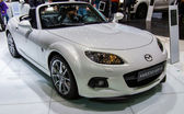 83rd Geneva Motorshow 2013 - Mazda MX5 — Stock Photo