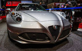 83rd Geneva Motorshow 2013 - Alpha Romeo 4C — Stock Photo