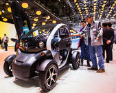 83rd Geneva Motorshow 2013 - Renault Twizy — Stock Photo