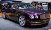 83 ginebra motorshow 2013 - bentley flying spur — Foto de Stock