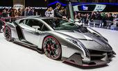 83rd Geneva Motorshow 2013 - Lamborghini Veneno — Stock Photo