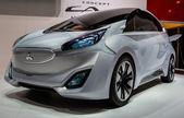 83rd Geneva Motorshow 2013 - Mitsubishi Concept CA-MIEV — Stock Photo