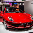 83rd Geneva Motorshow 2013 - Touring Superleggera Disco Volante — Stock Photo