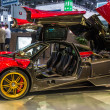 83rd Geneva Motorshow 2013 - Pagani Huayra — Stock Photo