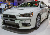 83rd Geneva Motorshow 2013 - Mitsubishi Lancer Evolution — Stock Photo