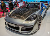 83rd Geneva Motorshow 2013 - Techart Tuned Cars — Stock Photo