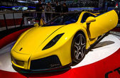 83rd Geneva Motorshow 2013 - Spania GTA Spano — Stock Photo