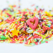 Funfetti for toppings — Stock Photo