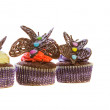 Chocolate Butterfly Cupcakes — Stockfoto