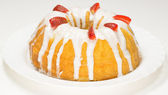 Cheese Pound Cake — Stock Photo