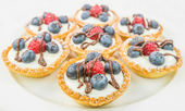 Mini Fruit Tart — Stock Photo