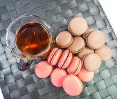 Francuskie macarons — Zdjęcie stockowe