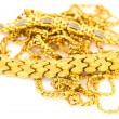 Gold Necklaces — Stock Photo #29779243