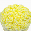 Yellow Cake Frosting — Stock Photo #30334995