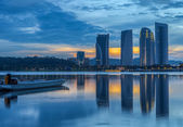 Sunrise At Putrajaya Lake — Stock Photo