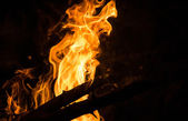 Fire Abstract — Stock Photo