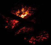 Resumo de ember ardente — Fotografia Stock
