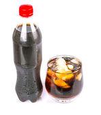 Napoje cola z lodem — Zdjęcie stockowe