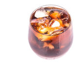 Cola Drink With Ice — Stock Photo