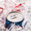 Canned Cola Drinks — Stock Photo