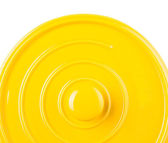 Yellow Cooking Pot — Stock Photo
